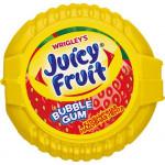 Жевательная резинка WRIGLEY`S Juicy Fruit Bubble Gum клубничная надувная лента, 30г