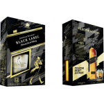 Виски JOHNNIE WALKER Black Label + 2 стакана, 0,7л