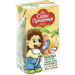Пюре САДЫ ПРИДОНЬЯ яблоко персик для малышей с 5 месяцев, 125мл
