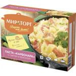 Паста МИРАТОРГ Карбонара с сыром и беконом, 350г