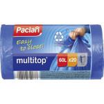 Мешки для мусора PACLAN Multitop 60л, 20шт