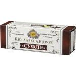 Глазированный сырок Б.Ю. АЛЕКСАНДРОВ Суфле в темном шоколаде с ванилью, 3х40 г