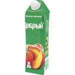 Нектар ДОБРЫЙ Персик-яблоко, 1 л
