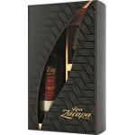 Ром ZACAPA Centenario Solera Gran Reserva 23 года подарочная упаковка+2 стакана, 0,7л