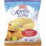 Бургеры лососевые VICI Любо Есть в панировке замороженные, 500г