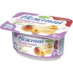 Йогуртовый продукт CAMPINA Нежный сливочный 5% с соком абрикоса и манго, 110г