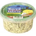 Салат из морской капусты РЫБООБРАБАТЫВАЮЩИЙ КОМБИНАТ №1 в сырном соусе с морковью и чесноком, 450г