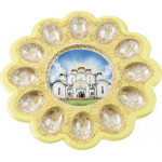 Тарелка HOME QUEEN Храмы для яиц и кулича