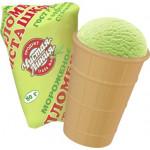 Мороженое пломбир ЧИСТАЯ ЛИНИЯ Фисташка вафельный стаканчик, 80г