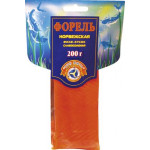 Форель ТРИ КИТА Норвежская филе-кусок слабосоленая, 200г