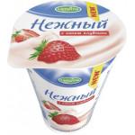 Йогурт CAMPINA нежный с соком клубники, 1,2% 320г