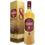 Виски GRANT`S 8-летний в подарочной упаковке, 0,7л