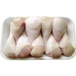 Голень цыпленка-бройлера замороженная на подложке халяль