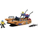 Игровой набор IMAGINEXT Субмарина и вертолет