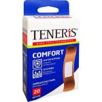 Лейкопластырь TENERIS Comfort бактерицидный, 20шт