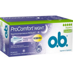 Тампоны O.B. ProComfort Night Super+, 16шт