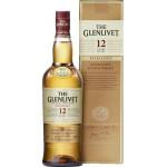 Виски THE GLENLIVET 12-летний в подарочной упаковке, 0,7л