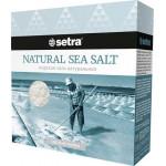 Соль морская SETRA натуральная, 500г