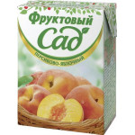 Нектар ФРУКТОВЫЙ САД  Персиково-яблочный, 0,2 л