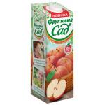 Сок ФРУКТОВЫЙ САД яблочный с мякотью, 0,95л