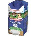 Сливки ДОМИК В ДЕРЕВНЕ 10%, 480г
