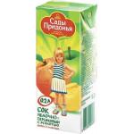 Нектар САДЫ ПРИДОНЬЯ яблоко и персик, 0,2 л