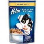 Корм для кошек FELIX с курицей, 85г