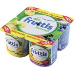 Продукт йогуртный CAMPINA Fruttis Легкий Ананас-дыня и лесные ягоды 0,1%, 110г