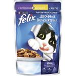 Корм для кошек FELIX ягненок/курица в желе, 85г