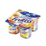 Йогуртовый продукт FRUTTIS инжир-чернослив/малина-земляника 5%, 115г