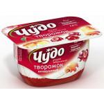 Десерт творожный ЧУДО вишня/черешня 4,2%, 100г