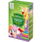 Лакомая кашка HEINZ пшеничная персик, абрикос, вишенка, 250г