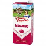 Молоко ДОМИК В ДЕРЕВНЕ стерилизованное 3,2%, 950г