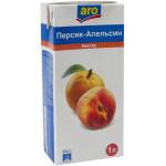 Нектар ARO Персик-Апельсин, 1 л