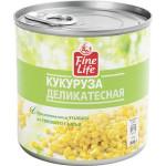 Кукуруза FINE LIFE сладкая в зернах, 340 г