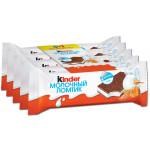 Бисквит KINDER Молочный ломтик молоко и мед, 5х28 г