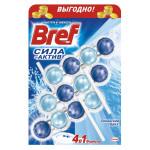 Средство для унитаза BREF Сила Актив океанский бриз в упаковке, 3х50г