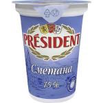 Сметана PRESIDENT 15%, 350г