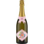 Напиток газированный ABRAU Junior розовый безалкогольный, 0,75л