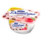 Десерт творожный DANONE Даниссимо Малина с шоколадной крошкой, 130г