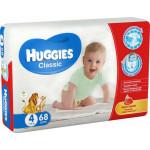 Подгузники HUGGIES Classic 4 (7-18кг), 68шт