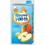 Сок ФРУТОНЯНЯ яблоко-персик, 500г