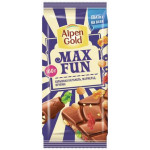 Шоколад ALPEN GOLD Max Fun Взрывная карамель, 160г