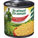 Кукуруза сладкая ЗЕЛЕНЫЙ ВЕЛИКАН, 340 г