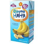 Нектар ФРУТОНЯНЯ банан с мякотью, 500г