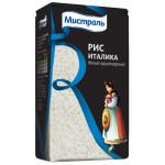 Рис Италика МИСТРАЛЬ белый круглозерный, 1000 г