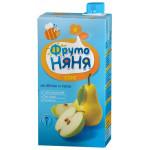Сок ФРУТОНЯНЯ яблоко/груша, 500г