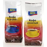 Кофе ARO зерно, 250г
