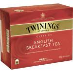Чай TWININGS english breakfast, 50х2г