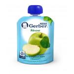 Пюре фруктовое GERBER Яблоко, 90г